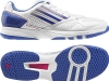 Adidas adizero prime Woman, weiß/pink/blau, Damen handballschuhe