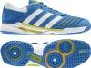 Adidas Stabil 10.0 adipower blau/lime/weiß, Handballschuh stabil