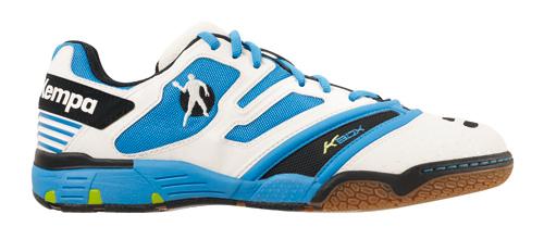Handballschuhe Kempa Stride XL weiß/blau/grün