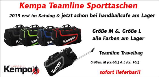 Kempa Taschen aus der Teamline Kollektion