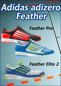 Adidas Adizero Handballschuhe Feather 2013
